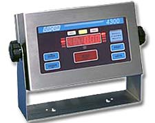 Over-Accept-Under Weighing Indicator Model 4300M