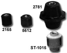 Load Cell Insulators Mounting