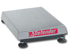 Painted Rectangular Scale Base Model Defender H