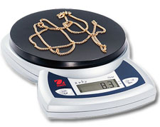 Ruby Jewelry Scale Model JR