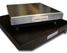 Remote Base Stainless & Powder Coat Finish Model 6400