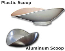 Plastic/Aluminum Totalcomp Scoop