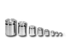 "Individual Stainless Steel Weights NIST Class ""F"""